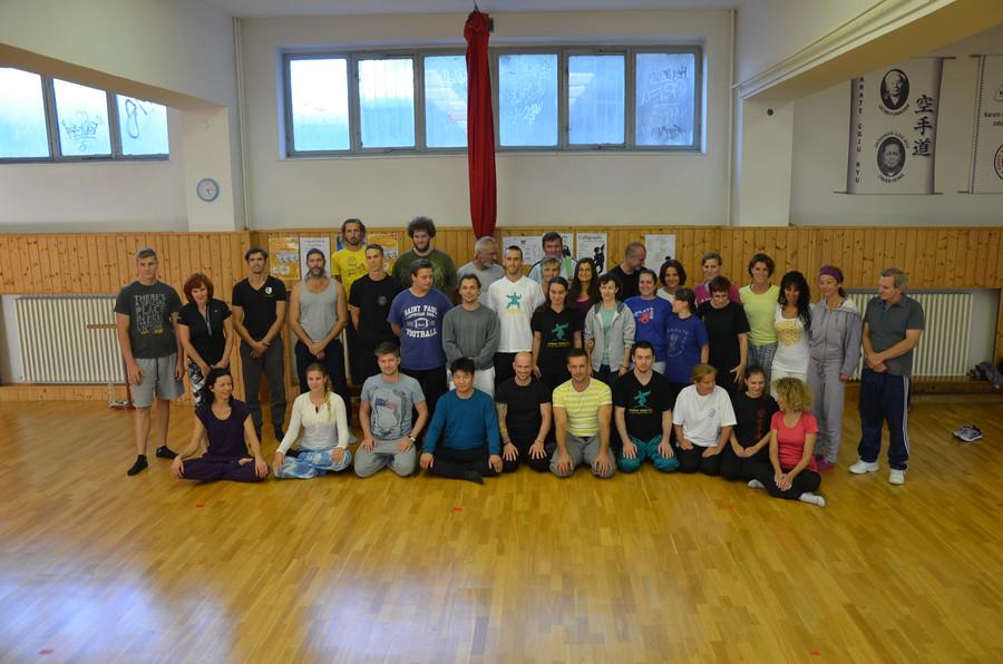 workshop Kaligraficka joga september 2015